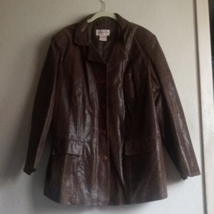 Vintage Venezia Leather Jacket